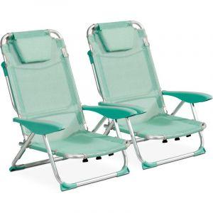 Clic clac des plages fauteuil Lot de 2 Opale CLIC CLAC DES PLAGES BY INNOV'AXE
