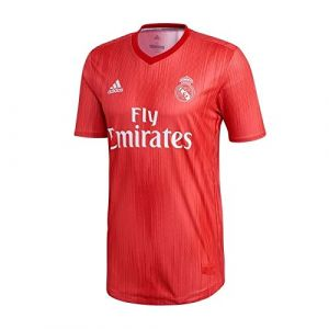 Adidas Madrid Third Maillot de Football Homme, Real Coral/Vivid Red, FR : L
