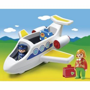 Playmobil 6780 - 1.2.3 : Avion de ligne