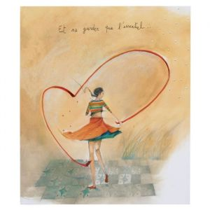 Panodia Album Artistes Coeur 11.5x15cm 100V