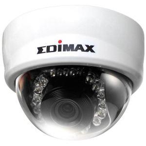 Edimax PT-111E - Caméra IP Mini Dôme HD Infrarouge PoE avec détecteur de mouvements