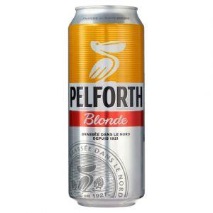 Pelforth Bière blonde, 5,8% vol. - La boîte de 50cl