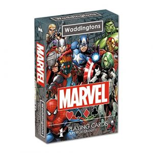 Winning Moves Univers Marvel Waddingtons N ° 1 Jeu de Cartes