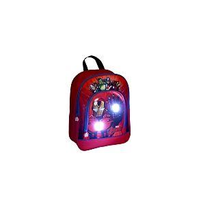 Alpa Sac à dos Avengers LED rouge