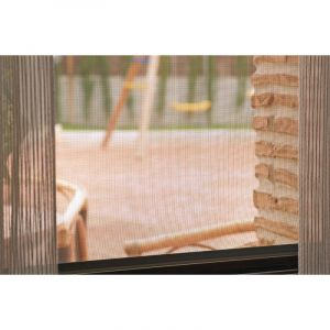 Catral Toile moustiquaire fibre de verre Vert - Longueur 30 m - Hauteur 1,2 m