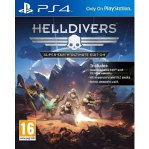 Helldivers : Super-Earth Ultimate Edition sur PS4