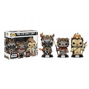 Funko Figurine Pop! Star Wars : Pack Teebo, Chirpa, Logray