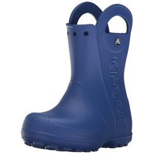 Crocs Handle It,Bottes de Pluie,Mixte Enfant,Bleu (Cerulean Blue), 34/35 EU