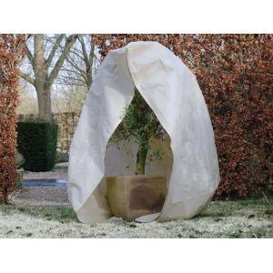 Nature World NATURE Housse d'hivernage 70 g/m² - &Oslash250 cm x 3 m - Beige