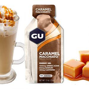 Gu Energy Gel Caramel Macchiato Box de 24