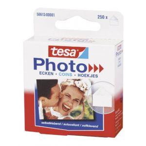 Tesa 56613-00001-00 - Photo coins photos, transparent, autocollant, sans