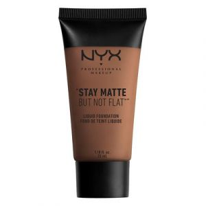 NYX Cosmetics Stay Matte But Not Flat 19 Cacao - Fond de teint liquide