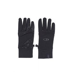 Icebreaker Sierra Gloves Gants Mixte Adulte, Noir, FR : L (Taille Fabricant : L)