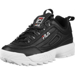 9736b74e39c Image de FILA Disruptor Low W Lo Sneaker chaussures noir noir 36 EU