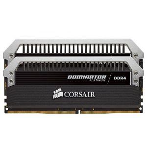 Corsair Dominator Platinum DDR4 32Go (2x16Go) 3000MHz C15 XMP 2.0 Kit de Mémoire Haute Performance
