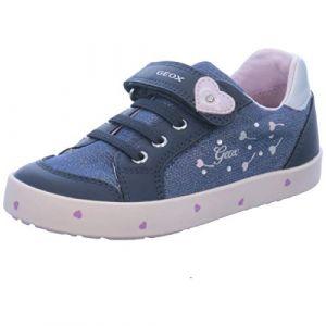 Geox Baskets basses enfant B KILWI GIRL bleu - Taille 24,25,26,27