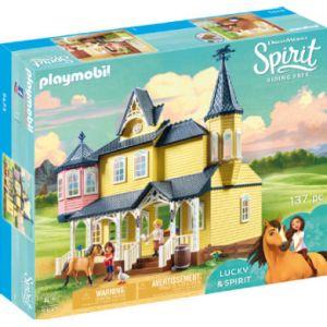Playmobil 9475 - Maison de Lucky DreamWorks Spirit Riding Free