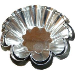 Guéry Moule à brioche 10 côtes en fer (7,5 cm)