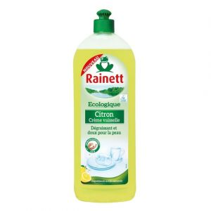 Rainett Liquide vaisselle écologique citron 750 ml