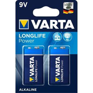 Varta 2 piles Longlife 9V/6LR61