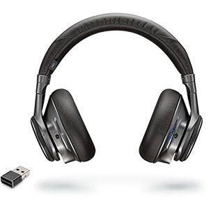 Plantronics BackBeat Pro+ Binaural Bandeau Noir Casque Audio - Casques Audio (PC/Jeux, Binaural, Bandeau, Noir, avec Fil/sans Fil, 100 m)