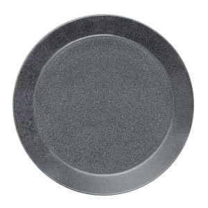 iittala Teema - Set de 2 Assiettes - mouchetée gris/Ø 26cm/nouvelle couleur 2017