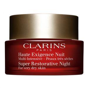 Clarins Haute Exigence Nuit - Multi-intensive peaux très sèches