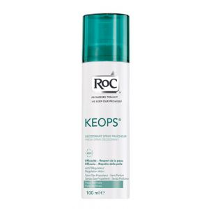 ROC Keops - Déodorant spray fraîcheur - 100 ml