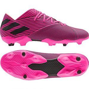 Adidas Chaussures de football Nemeziz 19.2 FG Rose - Taille 44 y 2/3