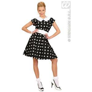 Widmann Déguisement robe a pois années 50 (taille 38-40)