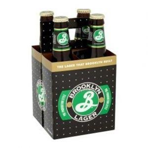 Brooklyn Lager - 5% - Le pack de 4 x 35,5cl