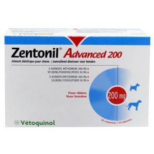Vetoquinol Zentonil Advanced 200 mg pour chien 30 comprimés