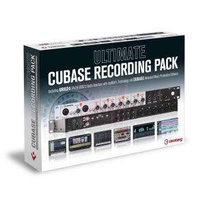 Steinberg Ultimate Cubase Recording Pack : Carte son UR824 + Cubase 7.5