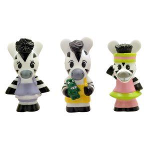 Plastoy Figurines Éveil Zou : Tubo 3 figurines