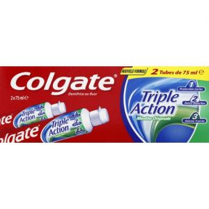 Colgate Dentifrice triple action