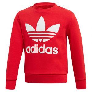 Adidas Ensembles de survêtement Ensemble Crew Sweatshirt rouge - Taille 4 / 5 ans,5 / 6 ans,6 / 7 ans,7 / 8 ans