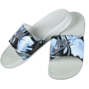 Nike Benassi Jdi Print W tong gris bleu 39,0 EU