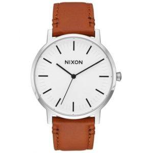 Nixon A1058-2442 - Montre pour homme The Porter Leather