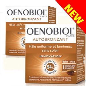 Oenobiol Autobronzant en capsules - Lot de 2 boites de 30 capsules