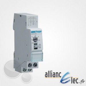 Hager Minuterie 230V contact réglable de 30s 10min