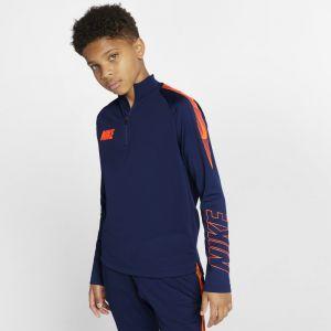 Nike Haut de football Dri-FIT Squad pour Enfant plus âgé - Bleu - Couleur Bleu - Taille S