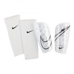 Nike Protège-Tibias Mercurial Lite - Blanc/Noir - Blanc - Taille Small/150-160cm