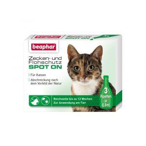 Beaphar Cochez et puces protection Spot-On 3 x 0,8 ml,