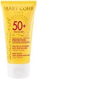 Mary Cohr Crème visage anti-âge solaire SPF 50+