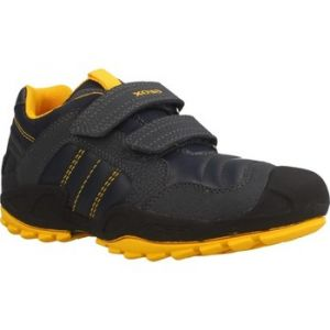 Geox J New Savage A, Garçon, Bleu (Navy/Yellow C0657), 25 EU