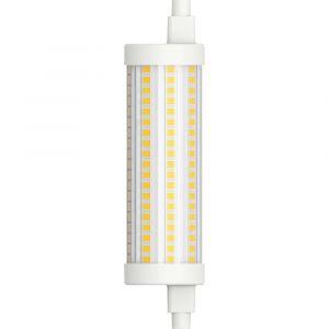 Müller-Licht Müller Licht LED EEC A++ (A++ - E) R7s tubulaire 15 W blanc chaud (Ø x L) 29 mm x 118 mm à intensité variable 1 pc(s)