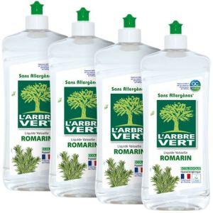 L'Arbre Vert Liquide vaisselle écologique concentré Romarin