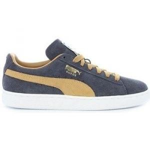 Puma Chaussures suede classic jaune-soleil 363829-05 cuir velours cuir jaune - Taille 39
