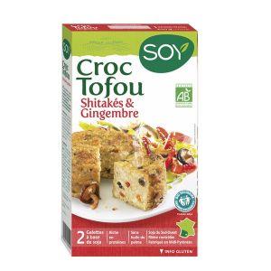 Soy Croque tofu Shitaké & Gingembre 2x100g