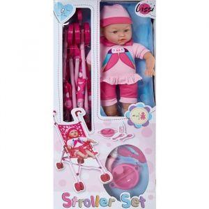 Image de Lissi Dolls Poussette et poupée de 40 cm